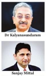 Dr. Kalyanasundaram and Sanjay Mittal